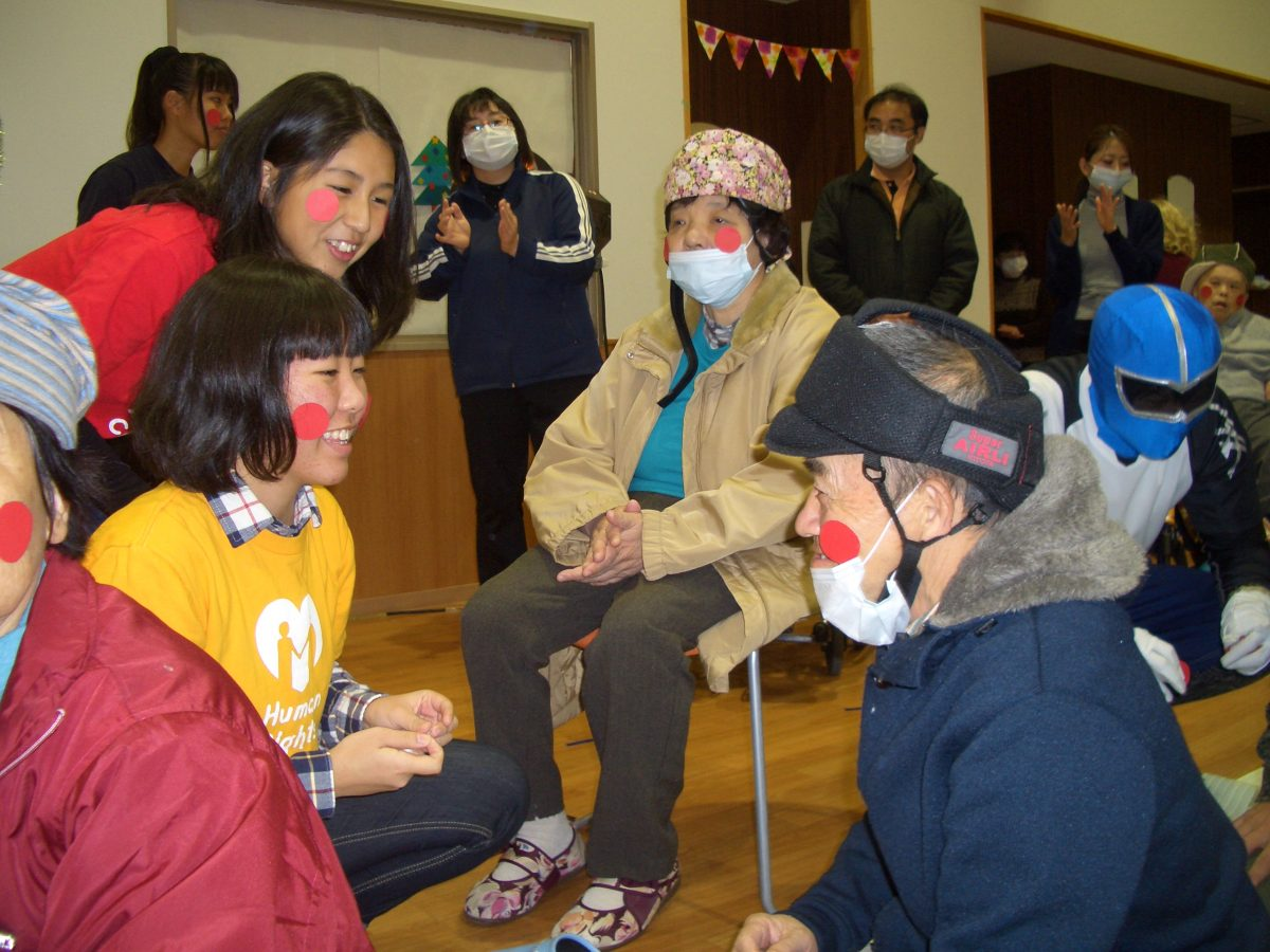 大日学園・梅の木園交流忘年会