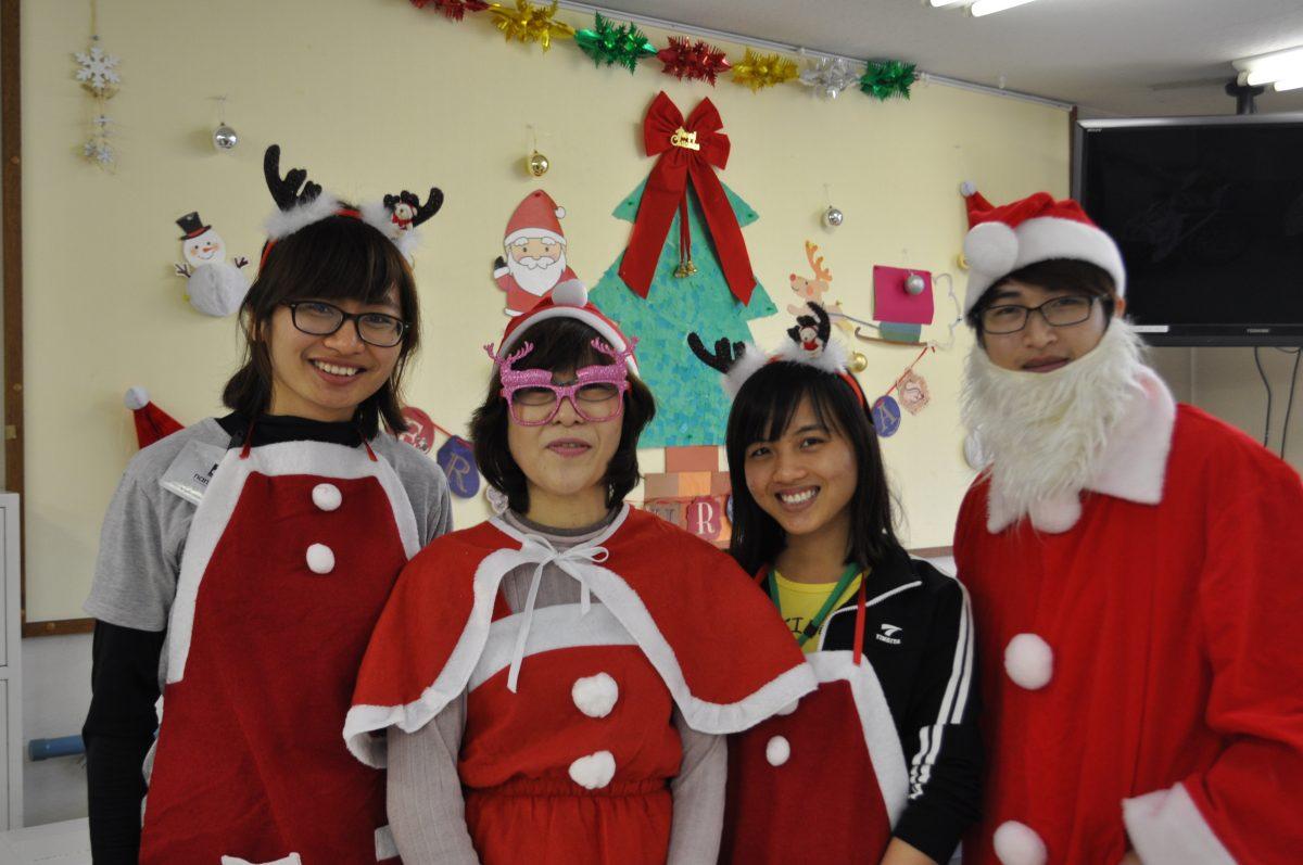 クリスマスも国際的!
