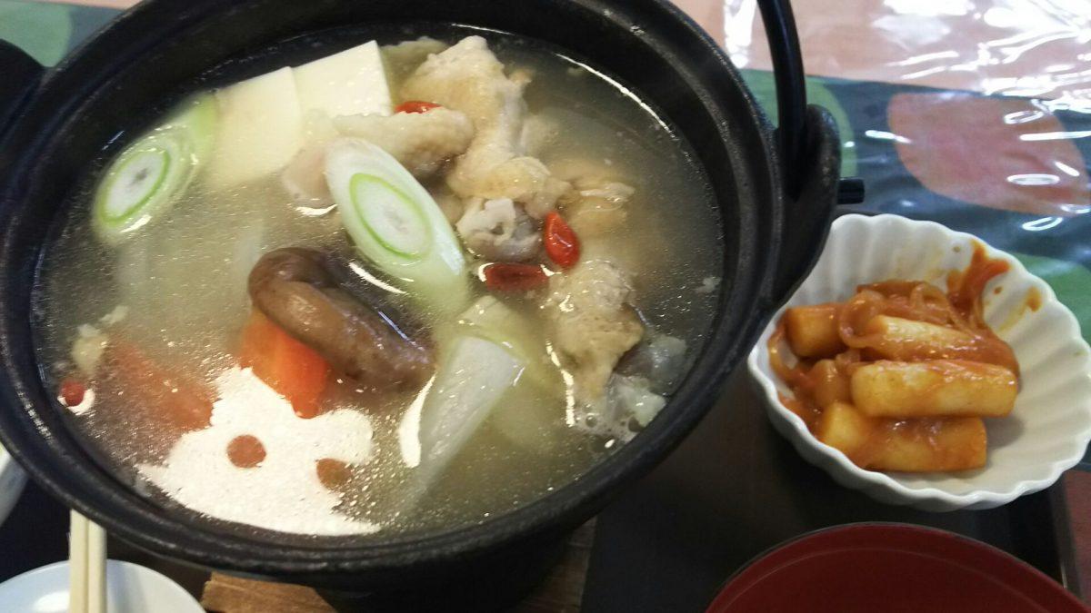 本格的韓国料理がなんと600円。