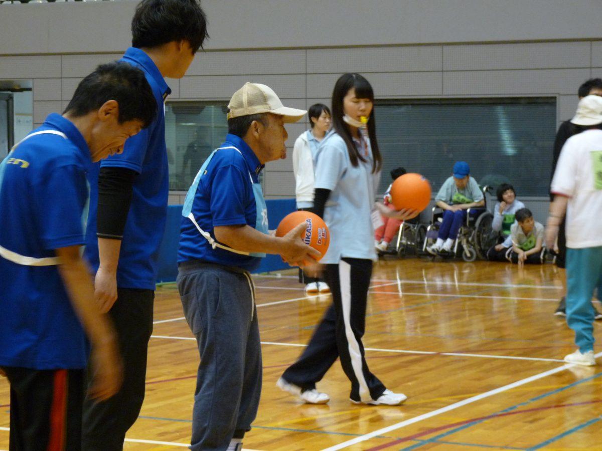 親善球技大会楽しんできました。