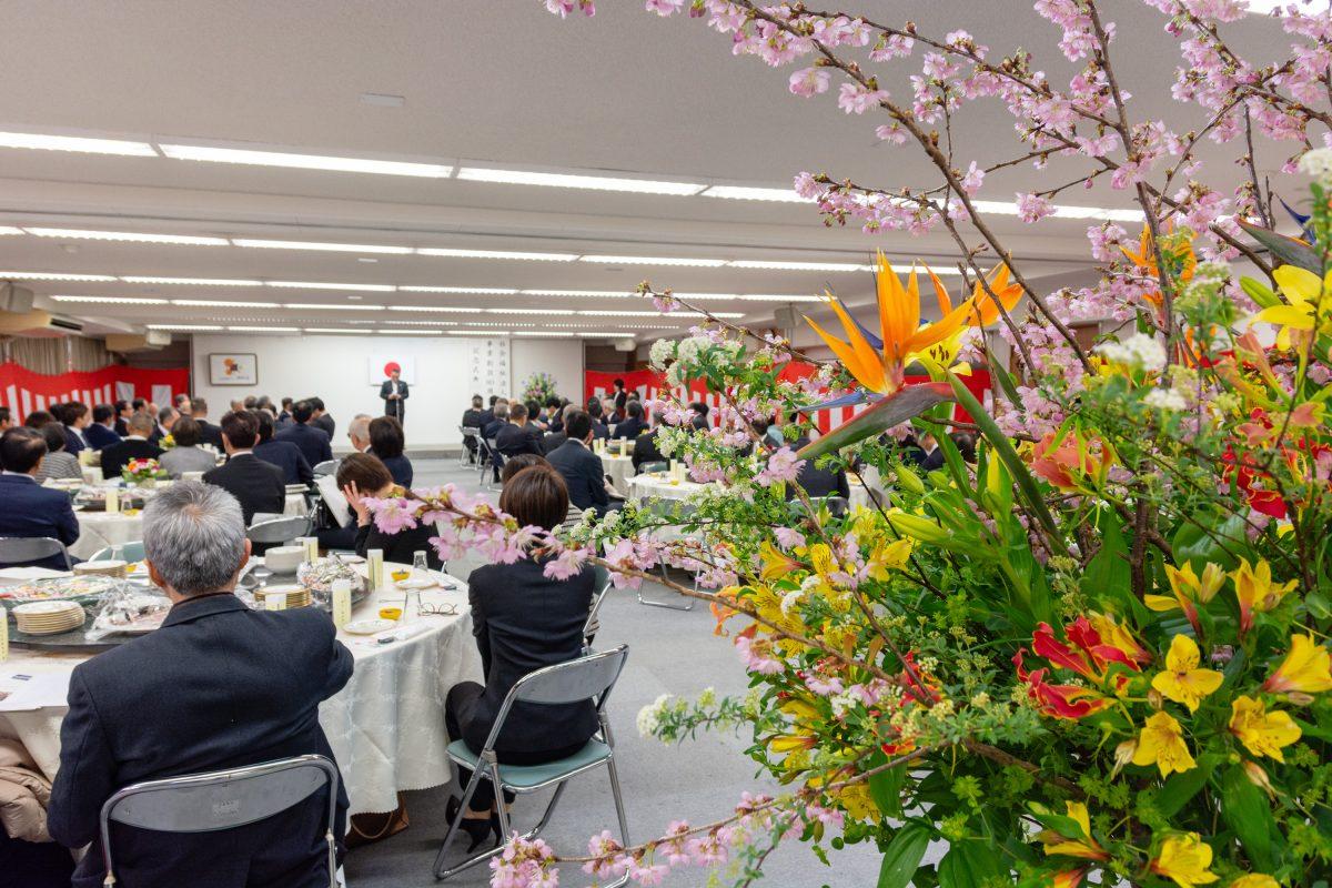 静和会事業創設80周年記念式典・祝賀会を行いました。