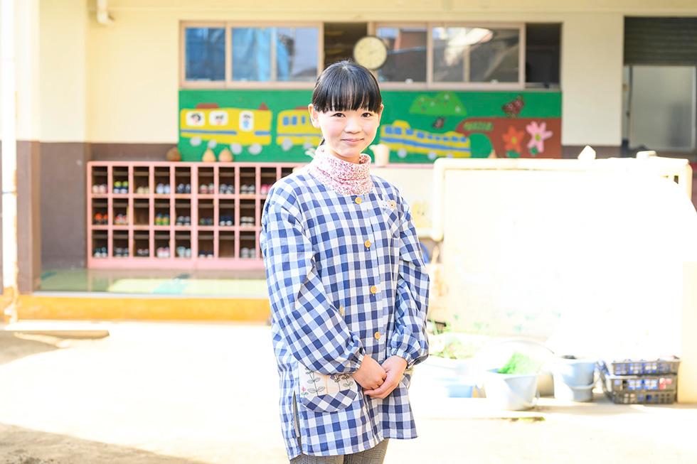 後藤 尚子たんぽぽ園保育所 保育士